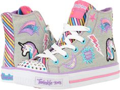 488f9c8229b87 Skechers kids twinkle toes shuffles 10776l lights little kid big kid
