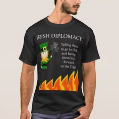 Irish Diplomacy T-Shirt - tap, personalize, buy right now!