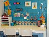 Kids Art Studio - contemporary - kids - boise - by The Vintage Glitter House