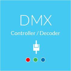 DMX Controller und DMX Decoder