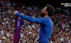 Real Madrid vs Barcelona 2-3 (GOLES y RESUMEN/HIGHLIGHTS) El Clasico - Messi Salvador 23/04/2017