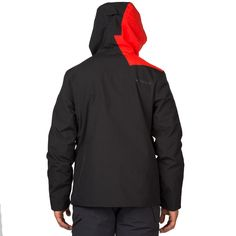 Spyder Enforcer Jacket Herren Skijacke schwarz rot grün – Bild 2 #spyder #skibekleidung #outlet #sporthausmarquardt