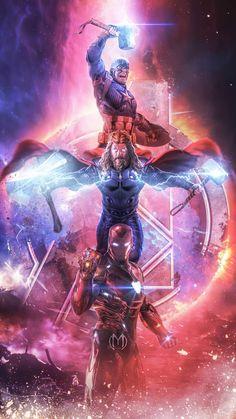 Iron Man Infinity Gauntlet Stones Artwork - iPhone Wallpapers