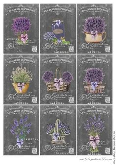 Shabby Chic Vintage French Paris Labels 9 Small Prints on Fabric Quilting FB 734 Vintage Crafts, Shabby Vintage, Vintage Paper, Vintage Flowers, Shabby Chic, Vintage Floral, Lavender Cottage, Lavender Garden, Etiquette Vintage
