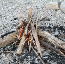 How to Make Campfire Starters. When on a camping or hiking trip, it's important to be prepared if you need to start a campfire (even in snow). Here are various methods to consider. They're easy to prepare, cheap to make, and will. Wilderness Survival, Camping Survival, Outdoor Survival, Survival Prepping, Survival Gear, Survival School, Survival Shelter, Camping Games, Camping Activities