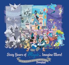 So excited for the 60th celebration! I love the artwork that was released today!