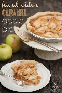 Hard Cider Caramel Apple Pie | Self Proclaimed Foodie