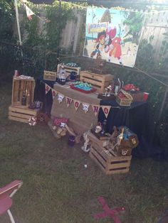 Jake and the Neverland Pirates Birthday Party Ideas   Photo 1 of 40