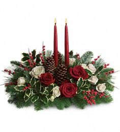 Our Christmas Wishes Centerpiece is the perfect addition to your home this season. Available at Neaman Floral in Rising Sun for only $44.95!
