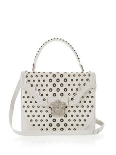 ALEXANDER MCQUEEN Monochrome Embellished-Flower Leather Shoulder Bag. #alexandermcqueen #bags #shoulder bags #hand bags #stone #suede
