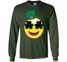 Emoji Smile Tshirt - Kids St Patricks Day Shirts