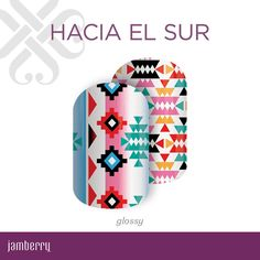 Influenced by the bold prints of the southern states, 'Hacia El Sur' creates the perfect statement piece.