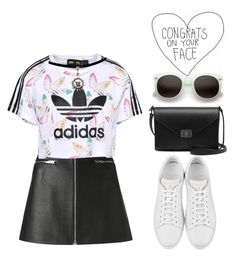 adidas by melanie-pacheco on Polyvore featuring moda, adidas Originals, Alexander Wang, Yves Saint Laurent, Mulberry and ZeroUV