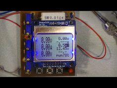 вольтамперметр для лабораторного блока питания на  ATMEGA 8 и дисплее от нокиа - YouTube
