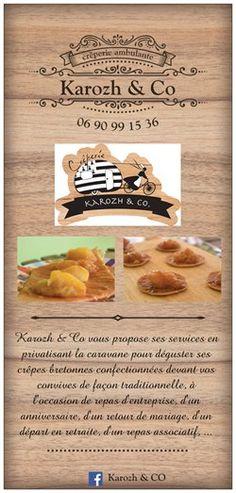 Banderoles Visite Cartes Camion Restaurant