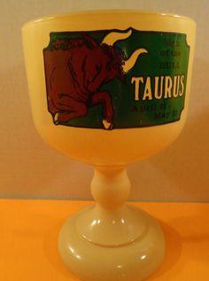 Vintage 1960s Retro Groovy Taurus Zodiac by ModSquadPicking, $24.00