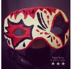 Réalisez un masque pour Mardi Gras : Laure L