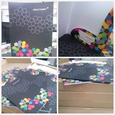 Love our new presentation folders straight from the printers :) Print Design, Web Design, Design Ideas, Graphic Design, Brochure Ideas, Branding Ideas, Folder Design, Presentation Folder, Letterhead