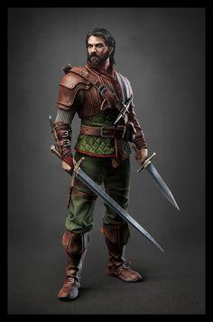 Baron de la Adalia. Member of King of the Mountain's personal Guard.