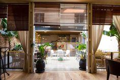 La contraseña (Madrid)nuevo espacio de inspiración colonial ofrece cocina mediterránea donde se puede comer a la carta o disfrutar de un encuentro informal.
