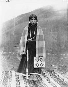 Nez Perce woman, Colville Indian Reservation, Washington, ca. 1903.