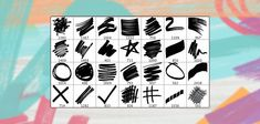 25 Free High Resolution Marker Pen Photoshop Brushes | Premium Pixels