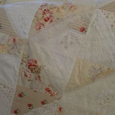 """Mias Landliv: oktober 2012  """"The Laces and Roses Quilt"""""""
