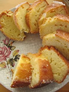 lemon sour cream cake