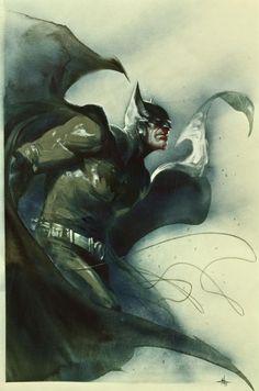super-nerd:  Batman by Gabriele Dell'otto