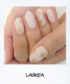 LAURE'A 雪の結晶ネイル|NAIL SALON LAUREA |Ameba (アメーバ)