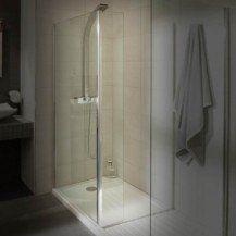 Aqualine 8mm 1850 x 250 Return Shower Screen