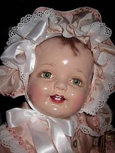 HUGE-FABULOUS-29-EFFANBEE-LOVUMS-1930s-COMPOSITION-DOLL-BEAUTIFULLY-DRESSED