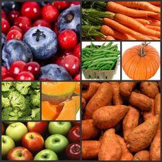 Dog Friendly Fruits & Veggies