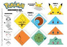 Lindos marcadores de páginas inspirados em Pokémon para comprar/fazer e deixar qualquer Ash Ketchum com inveja!