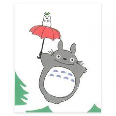 My Neighbor Totoro Post Card AB28298 Set