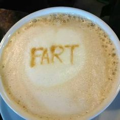 Coffee fart