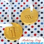 Baking Soda Modeling Clay Olympic Medals