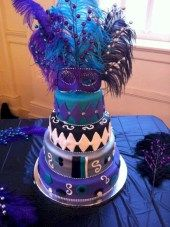 cool 41 Simple and Elegant Halloween Wedding Cakes Ideas in Purple  https://viscawedding.com/2017/11/28/41-simple-elegant-halloween-wedding-cakes-ideas-purple/