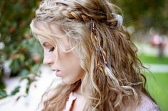 Feather Hair Clip long feather hair extension by kelseysfeathers, $23.25