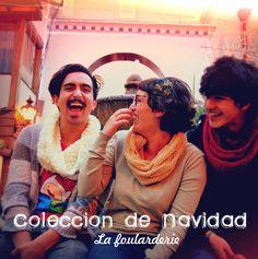 ¡Revive tus mejores momentos con La Foularderie! Colección de Navidad 2012. @La Foularderie AdosAgujas