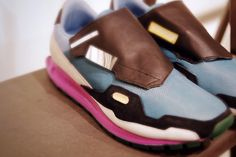 Raf Simons for Adidas - more trainer lust!  They would help me go for more walks : )