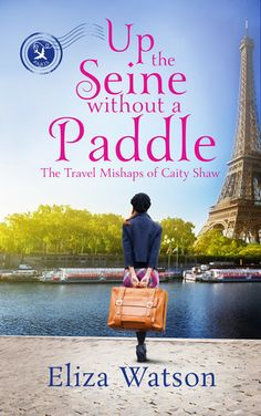 Good books come to those who read: Book Review - Up The Seine Without A Paddle by Eli... Little Books, Good Books, Books To Read, Book Review Blogs, Book Recommendations, Book 1, The Book, Cozy Mysteries, Book Cover Art