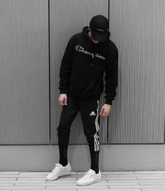 Streetwear Calabasas Outfit by edriancortes Tomboy Outfits, Casual Outfits, Men Casual, Style Streetwear, Streetwear Fashion, Streetwear Brands, Men Looks, Moda Men, Hypebeast Outfit
