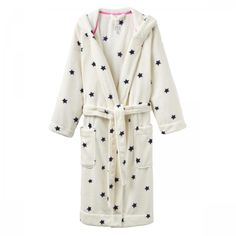 Joules Ladies Rita Dressing Gown - Perfect for the winter when you need that extra cosy layer.
