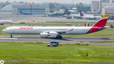 Iberia Airbus A340-642 (registered EC-KZI)