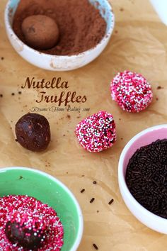 A rich, smooth, creamy mixture of chocolate, cream, butter, chopped hazelnuts and heavenly Nutella. Easy and totally foolproof