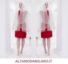 Vestiti rossi da sposa 2014 NEW Collection made in ALTAMODAMILANO.IT