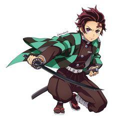 Tanjirou - Demon Slayer/Kimetsu no Yaiba Manga Anime, Kpop Anime, Anime Demon, Demon Slayer, Slayer Anime, Natsume Yuujinchou, Image Manga, Estilo Anime, Anime Screenshots