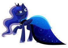 Luna Dress by WhiteHershey on DeviantArt My Little Pony Dress, My Little Pony Princess, Mlp My Little Pony, Mlp Memes, Celestia And Luna, Princess Cadence, Mlp Characters, Princess Twilight Sparkle, Nightmare Moon