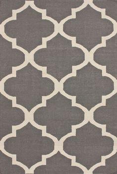 Gorgeous gray rug!